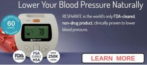 RESPeRATE Device for Lowering High Blood Pressure Naturally