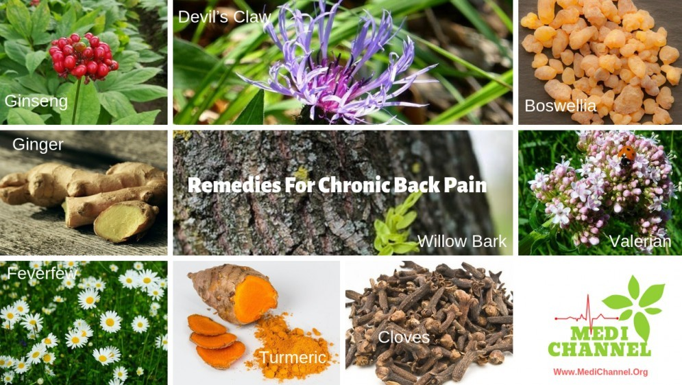 Natural Remedies For Chronic Back Pain