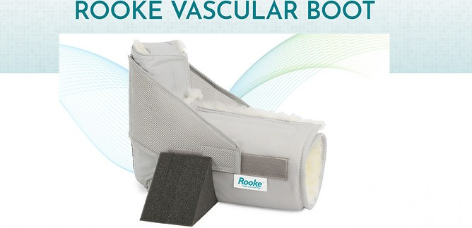 Can Rooke® Vascular Boots Really Help You Prevent Leg Ulcers, and Protect and Heal Wounds Fast? – Rooke Boot Heel Float System [HFS] Review