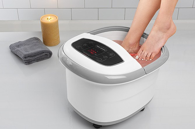Sharper Image Foot and Leg Spa Review
